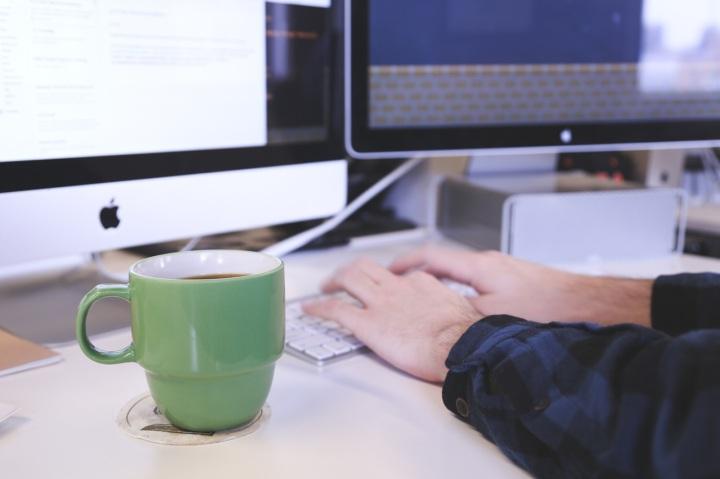 Digitando um novo posto no Blog